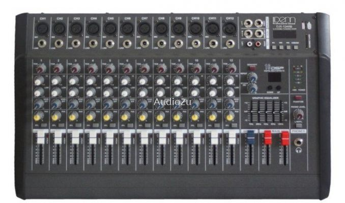 Denn Power Mixer DJX-12ARB