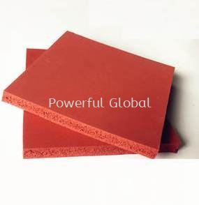 Silicone Sponge Red