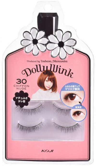 Share   Facebook Koji Dolly Wink Eyelash No. 30 Chiffon nude (Upper Eyelash)