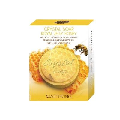 Thai Maithong Crystal Soap (Royal Jelly Honey)