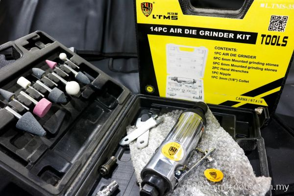 SMFTOOLS 14pcs Air Grinder Kit
