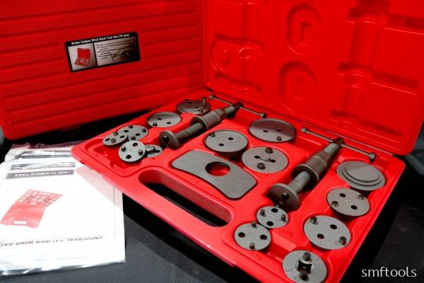 Remax Brake Caliper Wind Back Tool Set(18pcs)