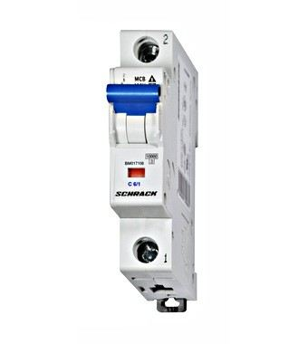 Miniature Circuit Breaker 1 Pole, BM Series
