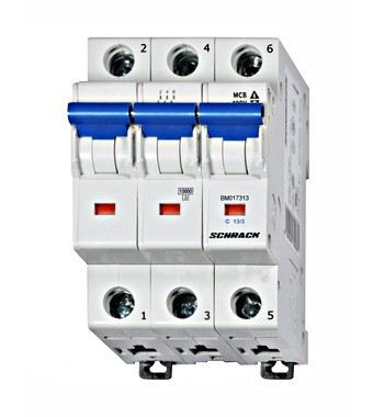 Miniature Circuit Breaker 3 Pole, BM Series