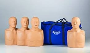 PM-MB-004B Practi-Man CPR Manikin 4-Pack with Carry Bag