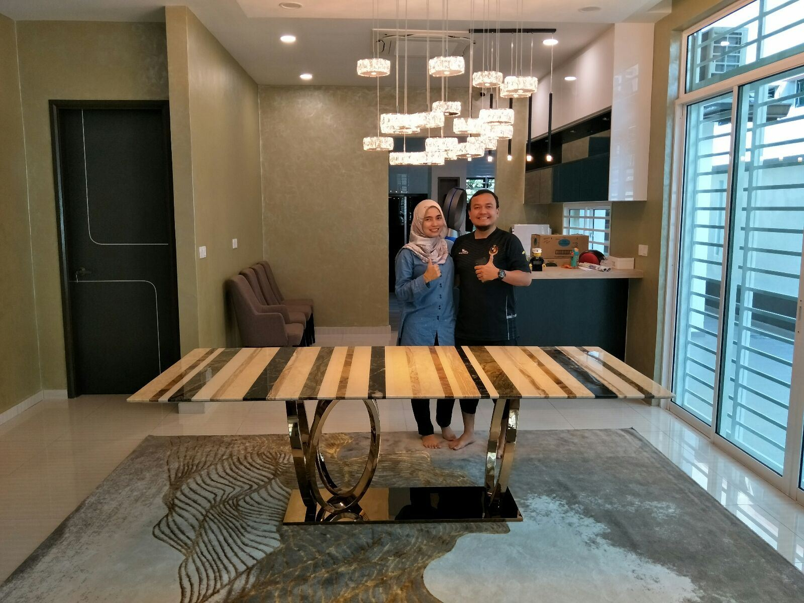 Marble Dining Table From India/Turkey/Italy