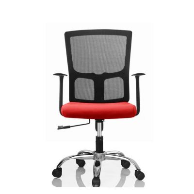 Stylish POSH High Mesh Back Office Chair (Red)