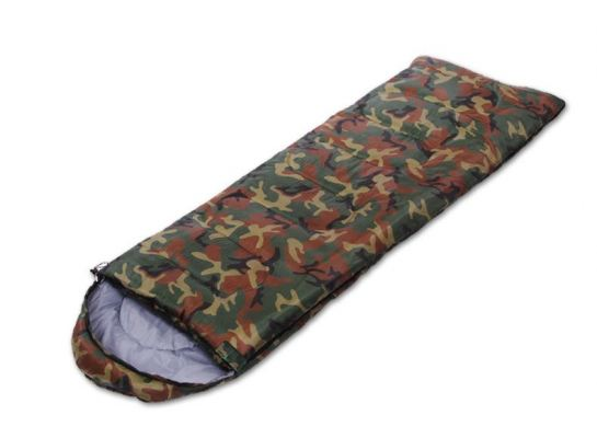 Camouflage Design Portable & Water Resistant Sleeping Bag (Outdoor Camping, Hiking)
