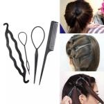 4 pcs Hair Accessories Tools