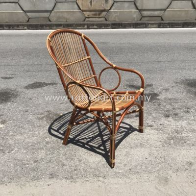 RATTAN LOUNGE CHAIR CAMILA