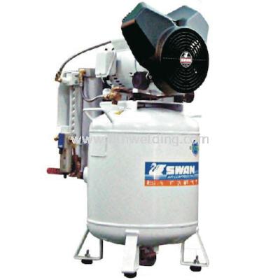 Swan Oil Less Air Compressor 2hp 8Bar 100L/min 50L 70kg PV202-50D