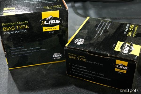 LMS BP-02 Bias Tyre Repair Patches
