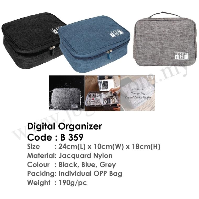 Digital Organizer B359 Cosmetic/Toiletries Bag Bag