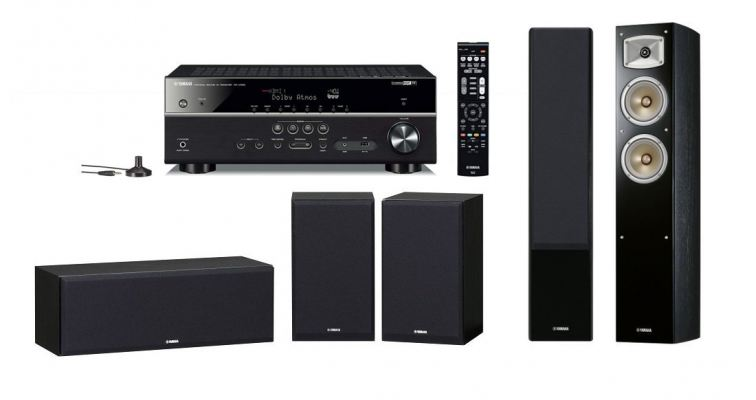 YHT585SPK330BL Home Theatre Package