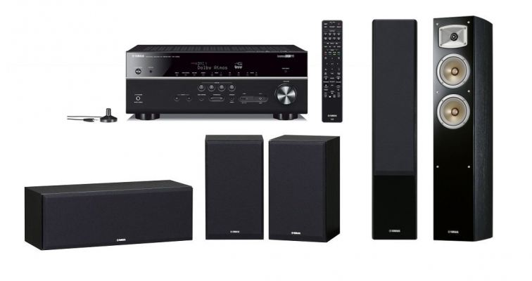 YHT685SPK330BL Home Theatre Package