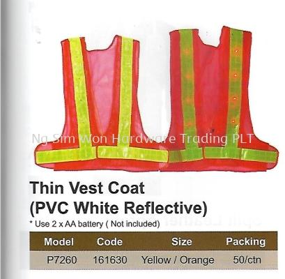 SAFETY VEST - BATTERY OPERATED REFLECTIVE (SW-SV07)