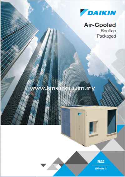 DAIKIN R22 AIR COOLED ROOFTOP PACKAGED UNIT