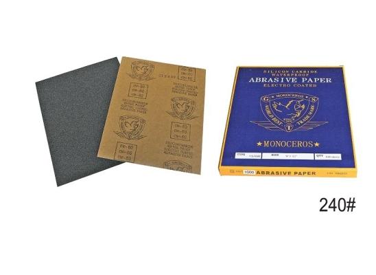 240#  KOREA  W/ PRO SAND PAPER - 00593G