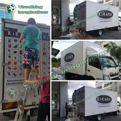 Vehicle Wrapping Signboard (Lorry)