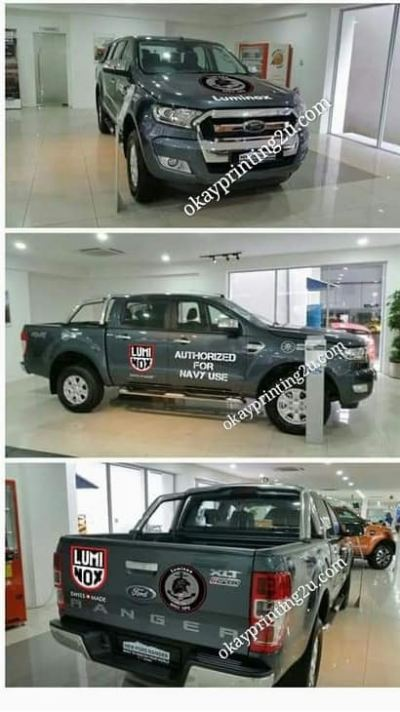 Vehicle Wrapping Signboard (Truck 4x4)