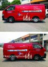 Vehicle Wrapping Signboard (Van) Van Vehicle Wrapping Signboard