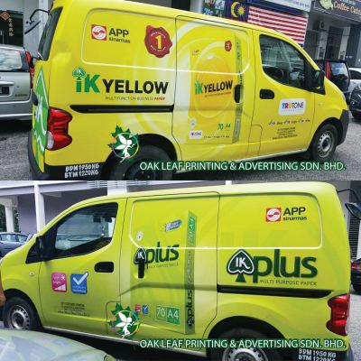 Vehicle Wrapping Signboard (Van)
