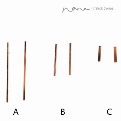 Stick - E115 Square Stick (Rose Gold)