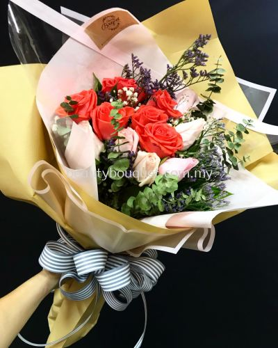 RB 054 Roses Bouquet