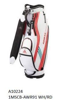 Adidas Caddie Bag White/Red Series 2019
