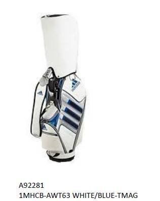 Adidas Caddie Bag White/Blue Tmag Series 2019