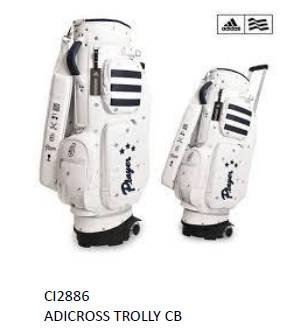 Adidas Trolly CB White Caddie Cart Bag Series 2019