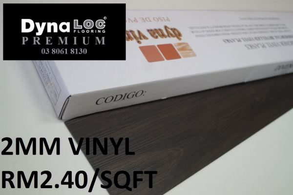 Vinyl Flooring 2mm - Cocoa Walnut ( V2-9103 )