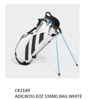 Adicross Stand Bag White Series 2019
