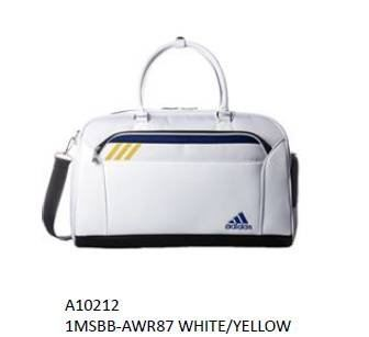 Adidas White/Yellow  Boston Bag Series 2019