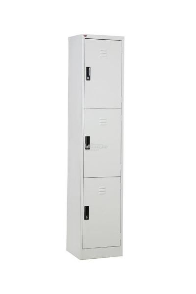 3 Compartment Steel Locker - S114 /3