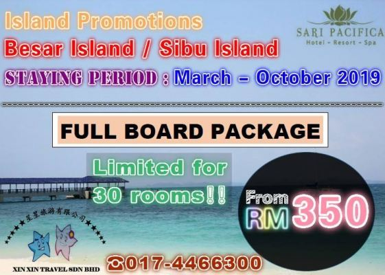 ✨2019 Island SUPER Promotion - Sari Pacifica Resort✨