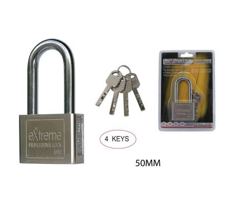50 MM SQUARE PAD LOCK (LONG SHAPE ) - 00399BB