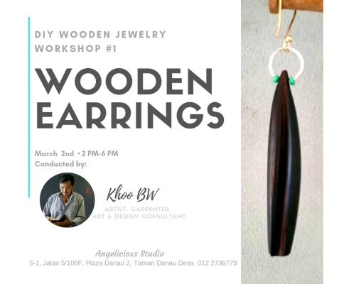 DIY Wooden Earrings
