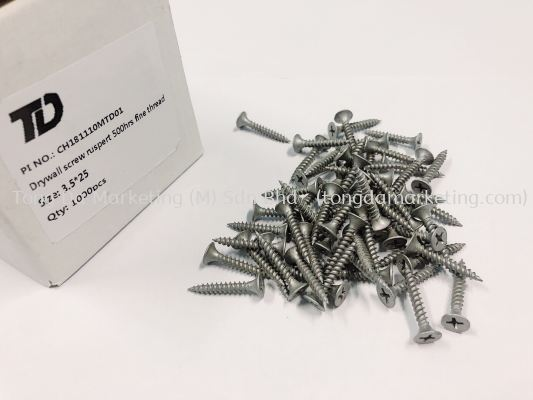 Drywall Screw Ruspert High Platting