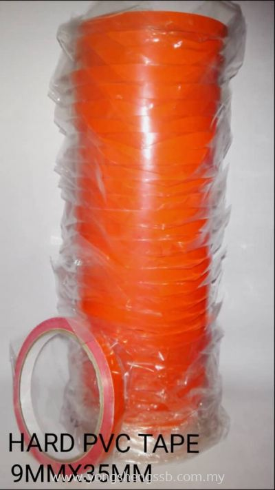 HARD PVC TAPE (9mm x 35mm) (32ROLLS/PKT)
