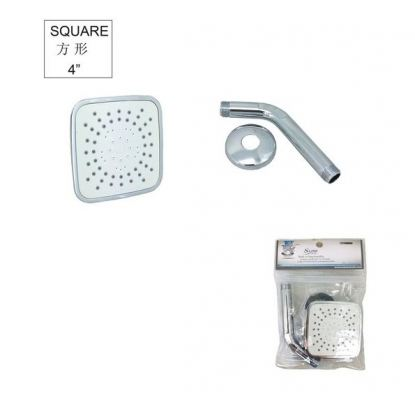 SL ABS SQUARE SHOWER SET-WHITE -00561S