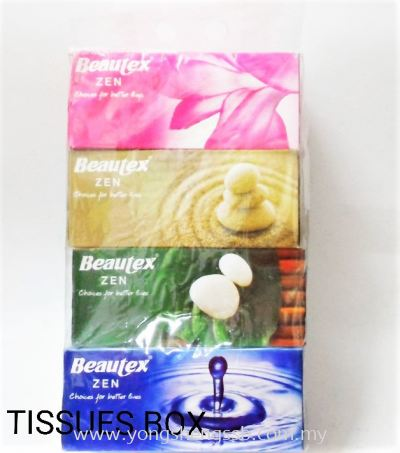 TISU BOX BEAUTEX (10PKT/BAG)