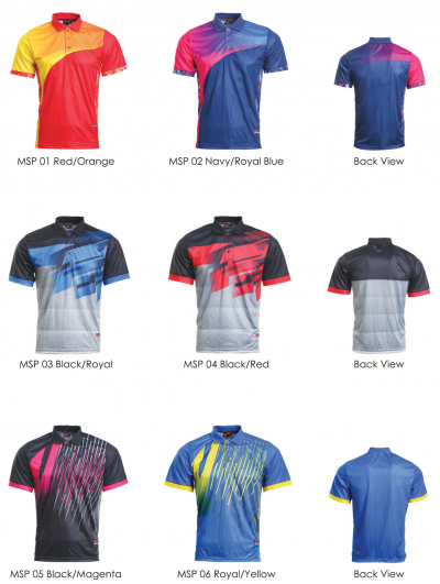 SUBLIMATION POLO DRY FIT