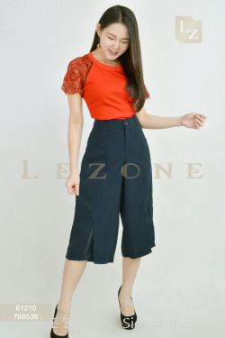 768536 SLIT CULOTTES 【1ST 10% 2ND 15% 3RD 20%】