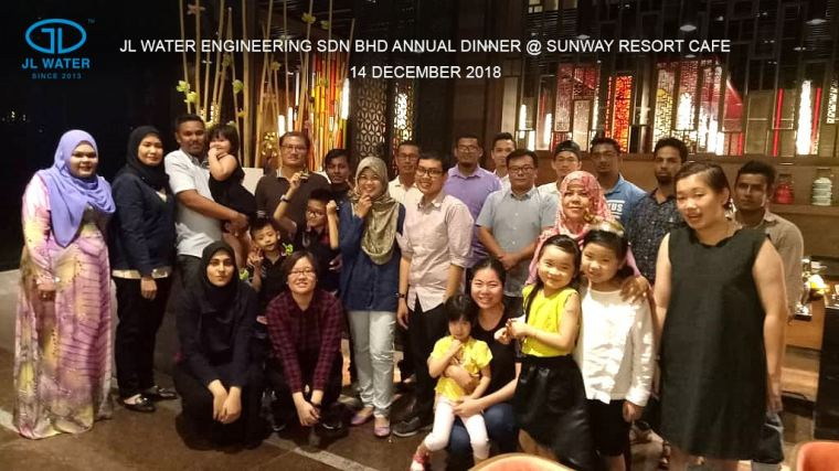 Company Annual Dinner @ Sunway Resort Cafe 14 Dec 2018