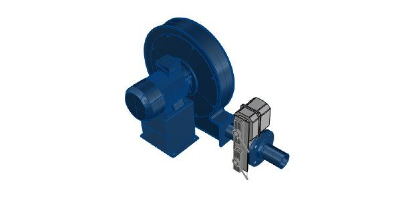 SANTIN - BLOWER WITH ACTUATOR