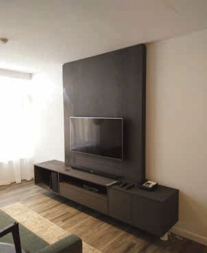 TV Panel & Low Cabinet