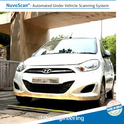 NUVOSCAN-  AUTOMATED UNDER VEHICLE SCANNING SYSTEM