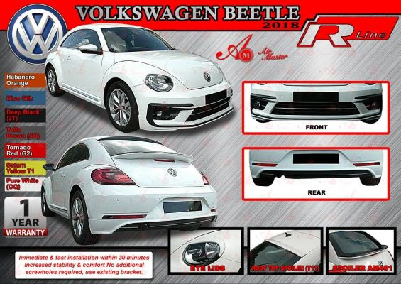 Volkswagen Bettle Bodykit AM R line bodykit