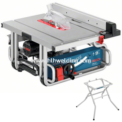 """Bosch Portable Table Saw with Stand 250mm (10"""") 1800Watt GTS10J"""